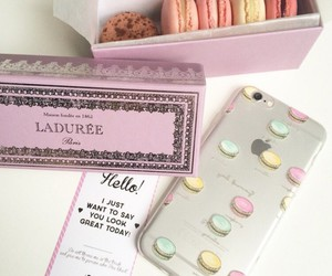 great, macarons, and yummy image
