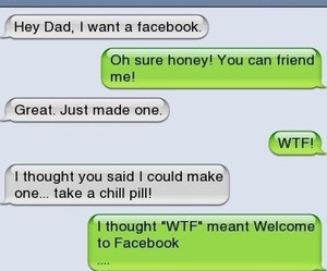chat, funny, and sms image