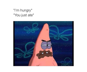 funny, food, and patrick image