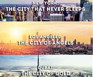 beauty, city, and dreams image