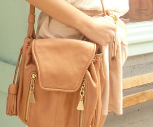 bag, beige, and cute image