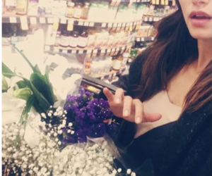 flowers, phoebe tonkin, and so cute image