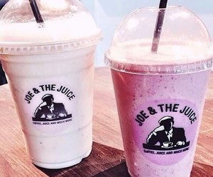 smoothie and food image