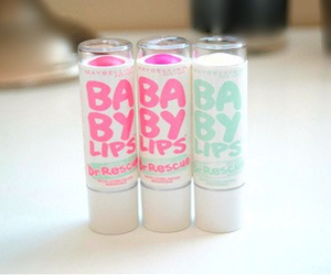 baby lips, pink, and lips image