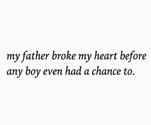broken, father, and boy image
