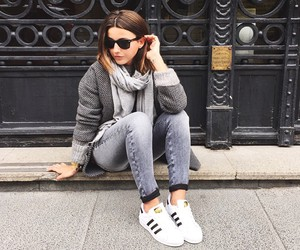 adidas, blogger, and outfit image