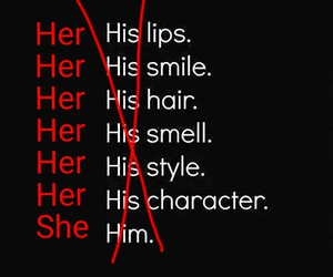 girl, her, and she image