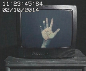 grunge, black, and hand image
