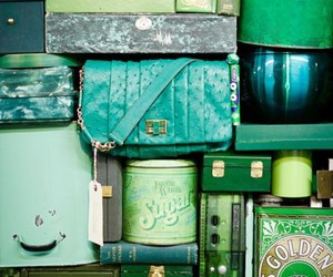 bags, grids, and green image