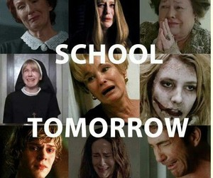 school, american horror story, and ahs image