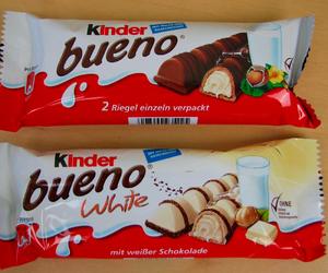 white chocolate and kinder bueno image