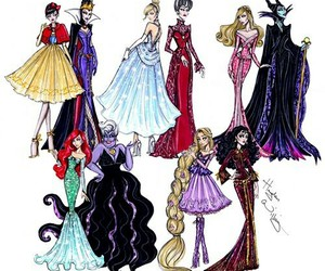 disney, princess, and drawing image