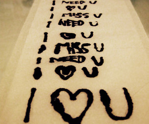 miss, need, and love image
