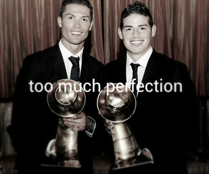 james rodriguez, cristiano ronaldo, and perfection image