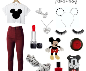 disney, mickeymouse, and outfit image