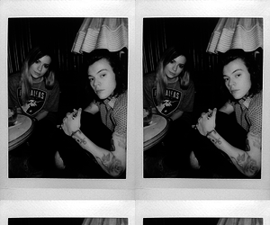 black and white, gemma, and styles image