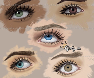 girly_m and eyes image
