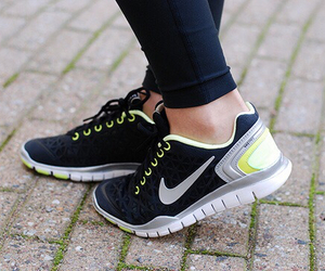 nike, shoes, and running image