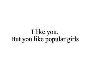 girl, popular, and quotes image