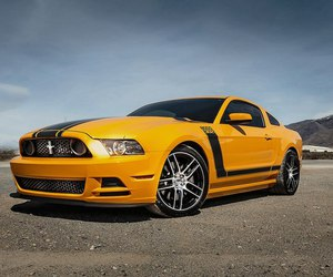car and ford mustang boss 302 image