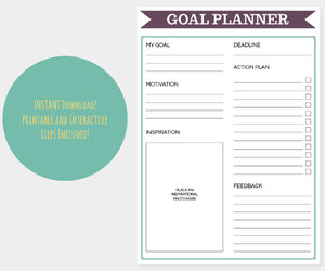 motivation and goal planner image