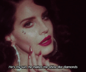 lana del rey, young and beautiful, and quotes image