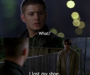 supernatural, funny, and Jensen Ackles image