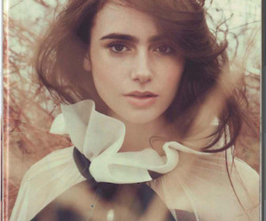 lily collins, pretty, and Queen image