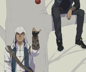 infamous, assassinscreed, and delsinrowe image