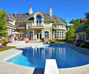 beautiful, house, and love image