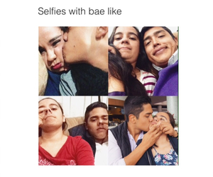 babe, beby, and selfie image
