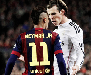neymar, bale, and real madrid image