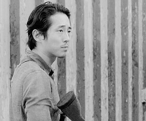 the walking dead, twd, and glenn rhee image