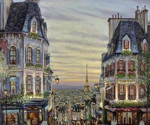 painting and paris image