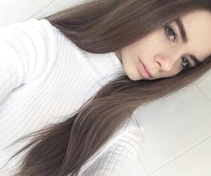 girl, hair, and joanna kuchta image