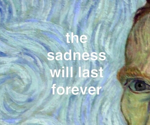 sadness, quotes, and art image