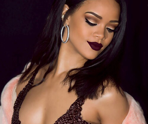 rihanna, makeup, and riri image