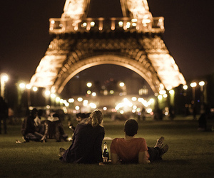 paris, love, and couple image