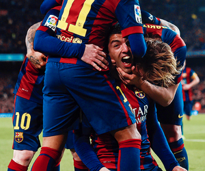 messi, fcb, and neymar image