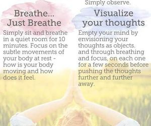 fitness, meditation, and spiritual image