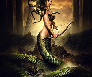 medusa and mythology image