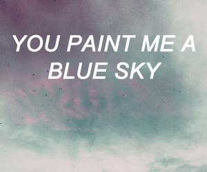 blue sky, dear john, and sad image
