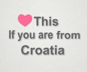 Croatia, heart, and hrvatska image