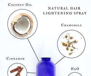 hair, natural, and diy image