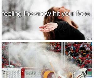 funny, hockey, and snow image