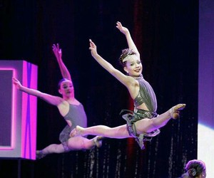 dance, maddie ziegler, and kendall vertes image