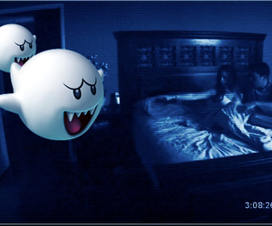 ghost, paranormal activity, and scary image