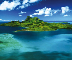 Island, ocean, and blue image