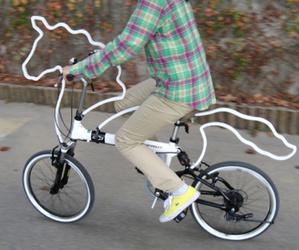 bike, unicorn, and horse image