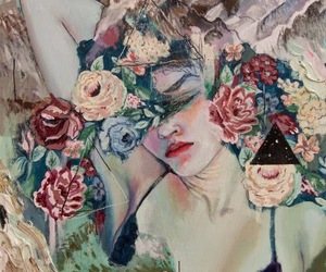 art, painting, and alexandra levasseur image